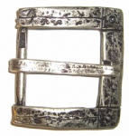 "38mm (1½"") 'Old Silver' Belt Buckle. Code BUC109"